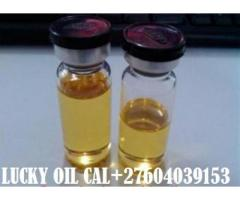 GET LUCKY OIL SPELL FOR LUCK  AND LOVE PROBLEMS &  MONEY SPELLS,POWERS OIL CALL +27604039153.
