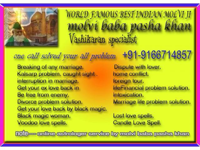 Inter/cast/love/marriage/vashikaran/specialist=09166714857