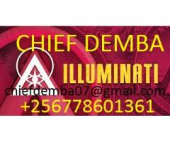 Join illuminati get rich and famous with the great CHIEF DEMBA +256778601361
