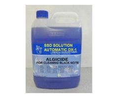 SSD SUPER AUTOMATIC CHEMICALS SOLUTION FOR CLEANING BLACK COATED CURRENCY