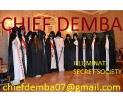 Join illuminati get rich and famous with the great CHIEF DEMBA +256703579842