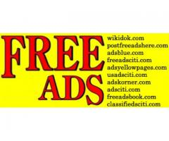 Place Free Ad - List of Free Online Classifieds