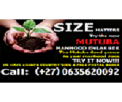 I SELL MUTUBA SEED FOR PENIS ENLARGEMENT WHATSAPP/CALL +27635620092 PROF KIISA